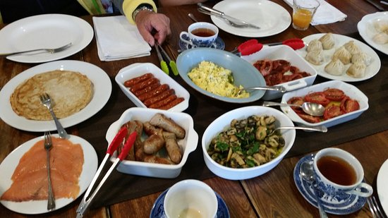 TARA Guest House: The best breakfast you could have