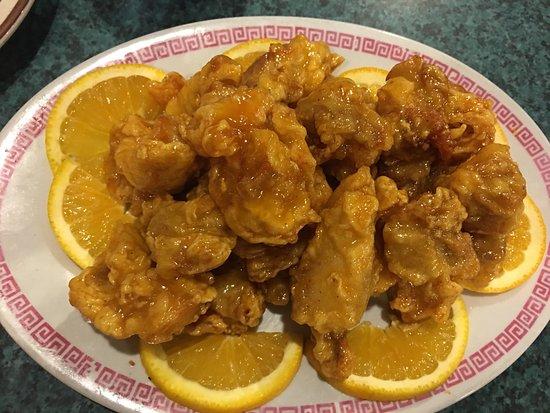 Molalla, Oregón: Orange Chicken