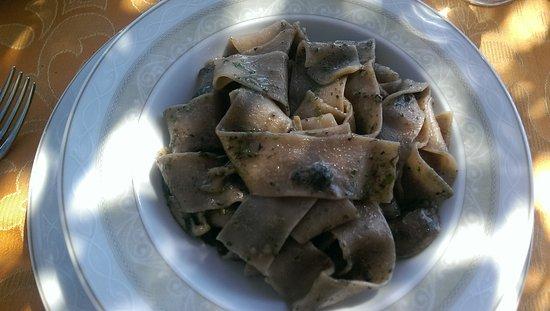 Roccatederighi, Italië: Mushroom Tagliatelle