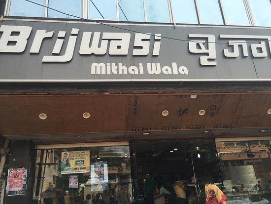 Image result for brijwasi restaurant mathura