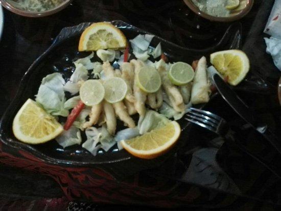 Ali Baba Restaurant: Fried calamari