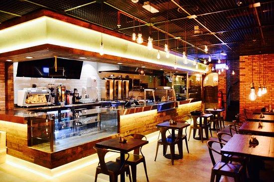 Shawarma Grill House Interior
