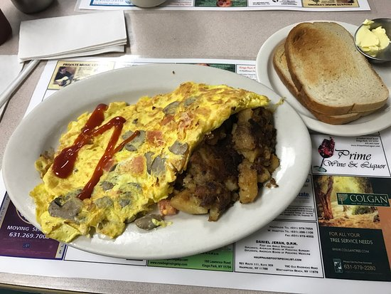 Kings Park, NY: Professor's Diner