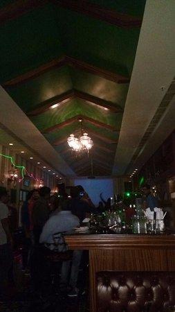 Zafraan Exotica Restaurant: Dance Floor and Bar Area. Dance Floor is for 20 people max.