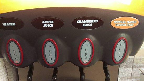 Claremore, OK: Tropical Mango - Enchanced Water??? But no OJ!