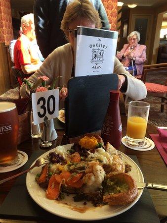 Maentwrog, UK: A Sunday plateful!