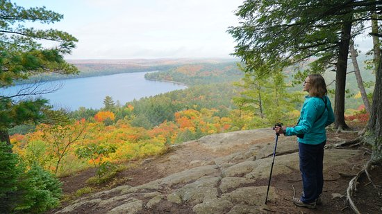 An October View From Booth s Rock Trail Algonquin Park Picture