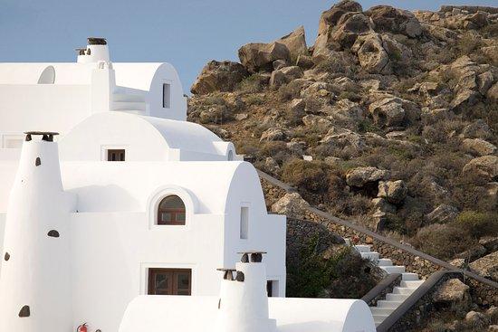 Aenaon Villas: Cycladic Architecture