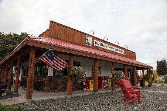 Sehr Einladend Schon Von Aussen Picture Of Montana Coffee Traders