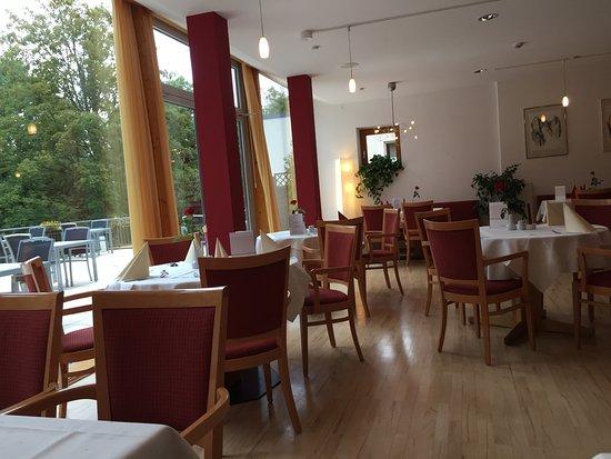 Ringhotel Parkhotel Ambiente: hier konnte man frühstücken