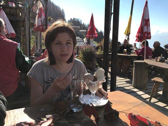 Veysonnaz, İsviçre: Excellent dessert!