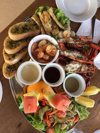 Marron Cafe: Mix di pesce per 2