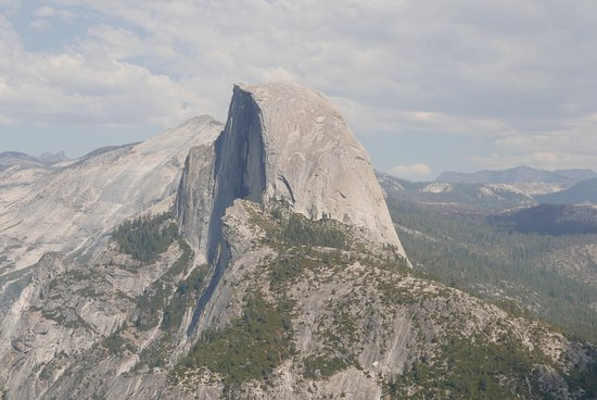 Mariposa, CA: View from Glacier point