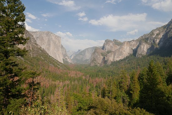 Mariposa, CA: another view from Glacier point