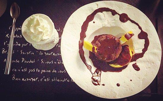 Villa 29 : Dome chocolat caramel