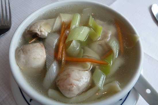 Diepholz, Germany: Leckere Won-Ton-Suppe
