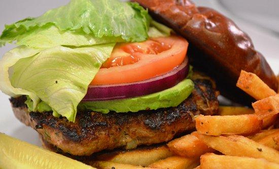 Glen Ellyn, IL: Turkey Burger