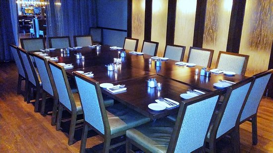 Glen Prairie: Our Private Dining Room, the perfect venue for intimate family gatherings or corporate events
