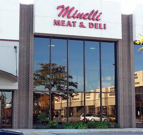 Niles, IL: Front of Minelli Meat & Deli