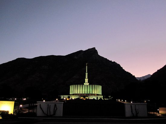 Provo, UT: Looks like Minas Morgul from Lord of the Rings