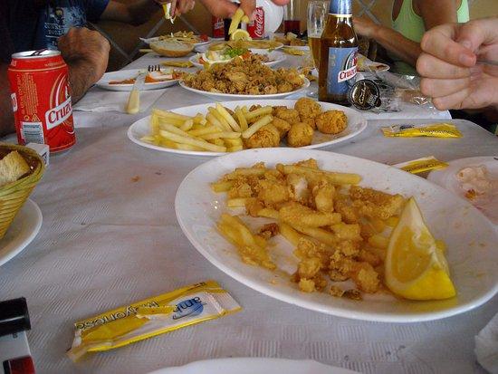 Province of Cadiz, إسبانيا: almuerzo
