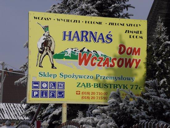 Bustryk, Polônia: Harnaś Dom Wczasowy serdecznie państwa zapraszamy