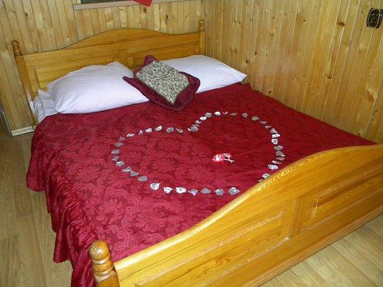 Bustryk, Polônia: Łóżka dla zakochanych par