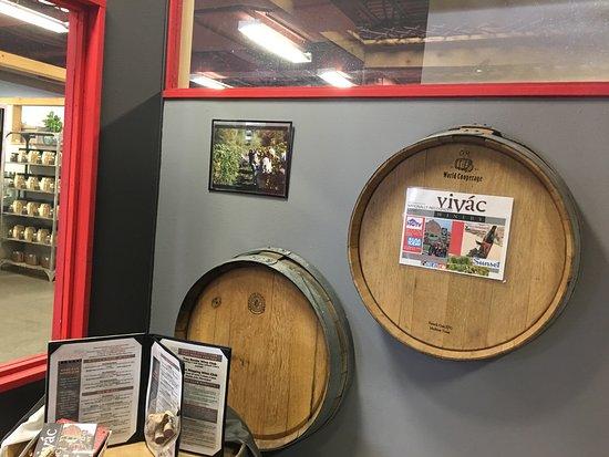 Vivac Winery Tasting Room