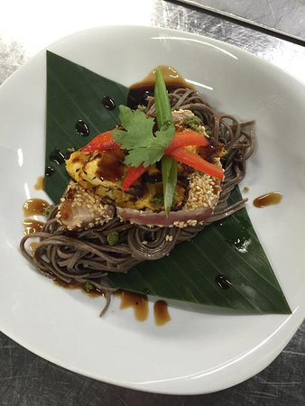 Leavenworth, KS: Ahi Tuna on Soba