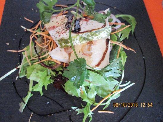terrine de poisson de lotte en salade picture of le. Black Bedroom Furniture Sets. Home Design Ideas