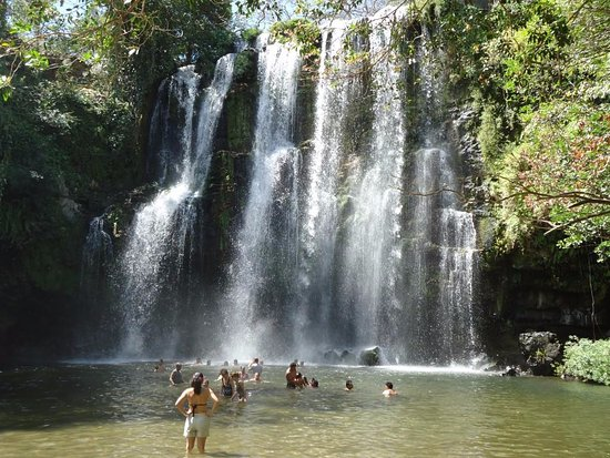 Playa Potrero, Costa Rica: Miravalles Waterfall and Adventure Trip