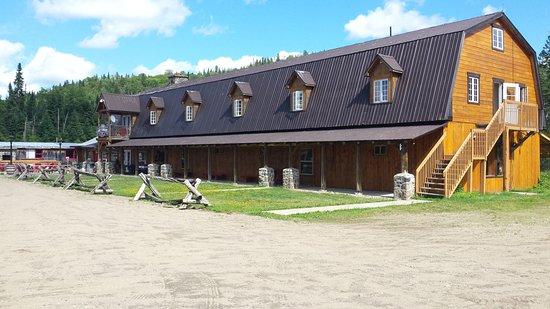 Val-des-Lacs, Canadá: le ranch