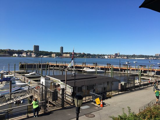 View of the terrace picture of boat basin cafe new york for 70 park terrace east new york ny