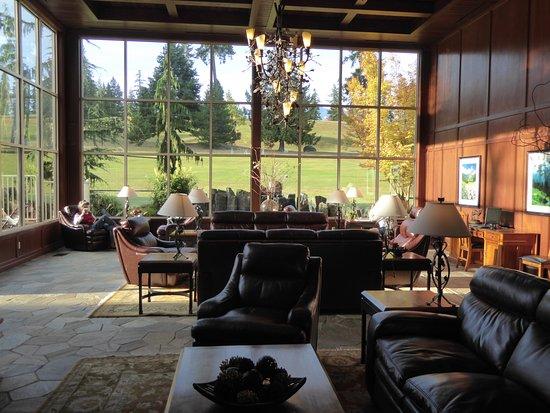 Olympic Lodge: le lobby