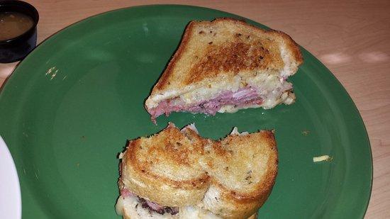 Scrambler Marie's: Pastrami Reuben (I took a bite before I took the photo!)