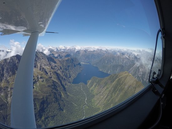Queenstown, Nova Zelândia: So many wonderful view from the plane