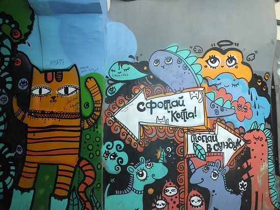 explore primorye day tours graffiti in the old quarters featuring the siberian