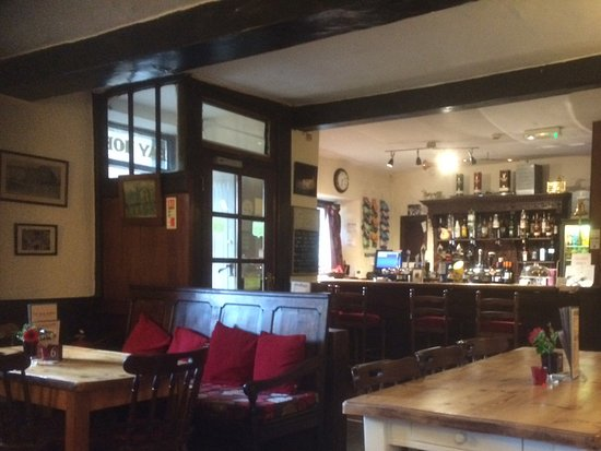 Arkholme, UK: Bar area