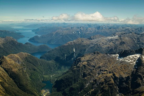 Queenstown, New Zealand: From the air...so beautiful