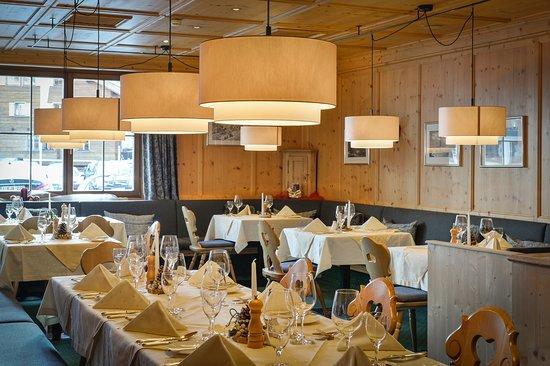 Zurs, Austria: Speisesaal