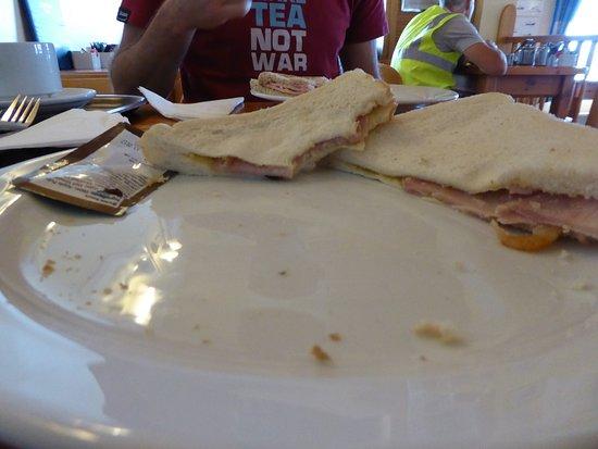 Overstrand, UK: Bacon Sandwich