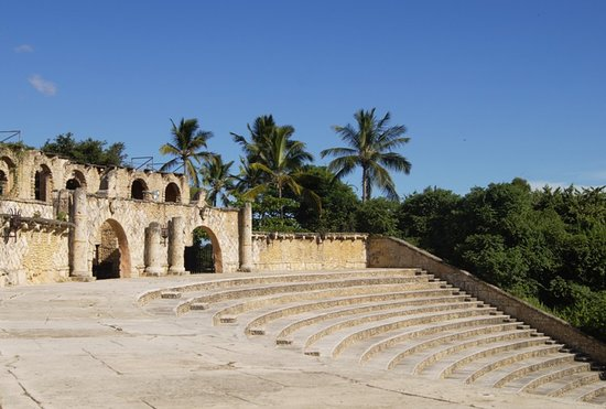 Altos de Chavon Village: амфитеатр