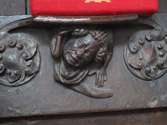 Kings Lynn Minster: Another misericord