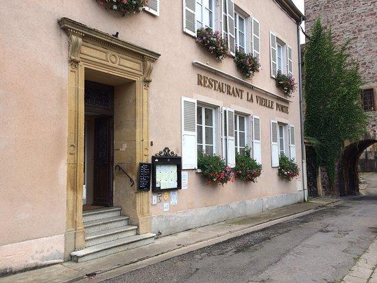 Un excellent restaurant: La Vieille Porte de Sierck les Bains en Moselle