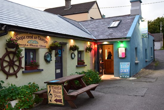 Local dingle restaurant and music store picture of for Local house music