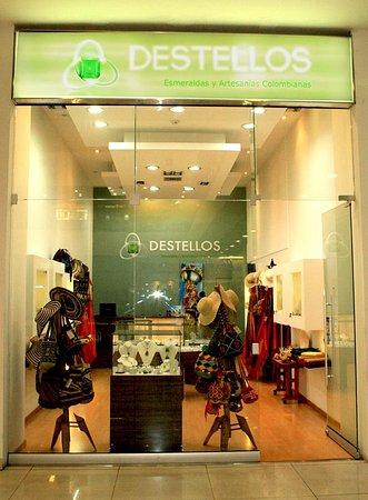 Destellos Esmeraldas y Artesanias Colombianas