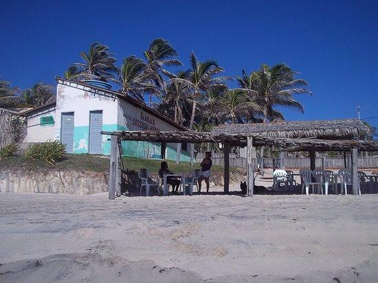 Majorlandia, CE: Bar von diesen Aracati Majorlandia Praia - spartanisch