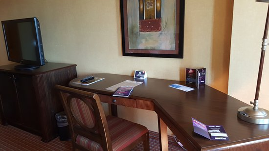 Harrah's Lake Tahoe: Desk