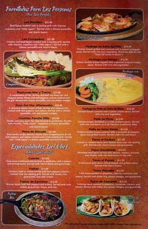 los potrillos menu page 3