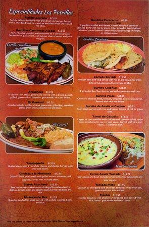 los potrillos menu page 2